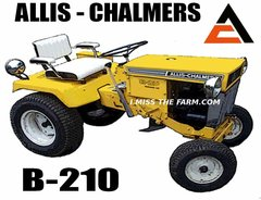 ALLIS CHALMERS B210 TEE SHIRT