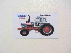 CASE 1570 SPIRIT OF 76 Fridge/toolbox magnet