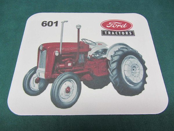 601 Ford Tractor Bumper : Ford mousepad tractor farm