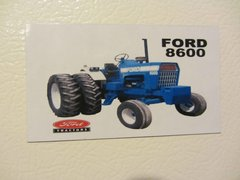 FORD 8600 WITH DUALS Fridge/toolbox magnet