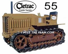 CLETRAC 55 TEE SHIRT