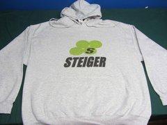 STEIGER TRACTORS LOGO HOODED SWEATSHIRT