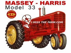 MASSEY HARRIS 33 NF HOODED SWEATSHIRT