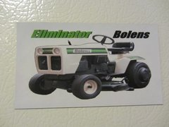 BOLENS ELIMINATOR Fridge/toolbox magnet