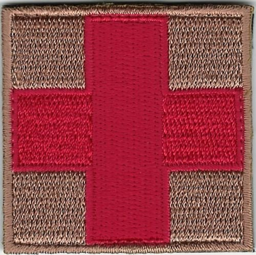 "2"" Red Cross Patch"