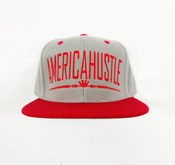 Royal Hustle Grey&Red