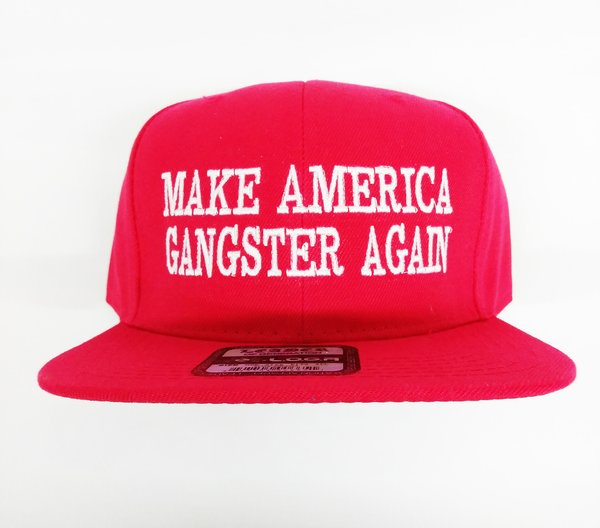 make america gangster again hat