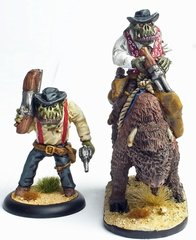 Cowboy Orc 5 - Hoodoo Green - Foot & Mounted