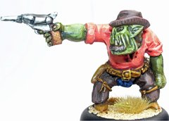 Cowboy Orc 2 - Mad Mike Hangry