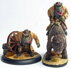 Cowboy Orc 1 - Big Arnie - Foot & Mounted