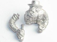 Wild West Cowboy Orc Wagon Driver Body & Arm