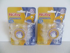 Nuby Nipples - Replacements for Standard Neck Baby Bottles - 0+mo 12 Pack FREE SHIPPING USA