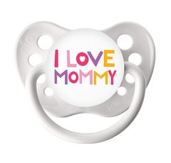 1 Reborn Baby Doll Magnetic Pacifier Girl or Boy I Love Mommy Design with Magnet Kit