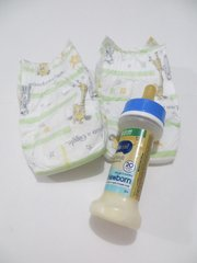 Reborn Doll Similac or Enfamil Newborn Bottle + Diaper Set
