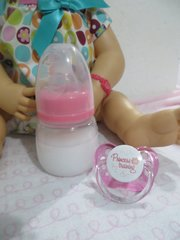 Baby Alive Bottle and My Baby Alive Pacifier Princess in Training Set - Magnetic