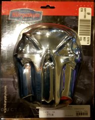 CHROME SKULL HORN COVER
