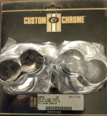 CHROME TAPPET BLOCK COVER SET HARLEY BT & XL 84-99