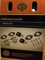 UNIVERSAL SADDLEBAG LOCK SOFT-SIDED HD 90300017