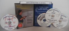 """"""" Simple Instructions to Drywall """" By Mark Orvik (wholesale)"""