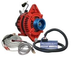 Balmar AT-165-Series Alternator, MC-614H, MC-TS-A & MC-TS-B Single Foot Kit