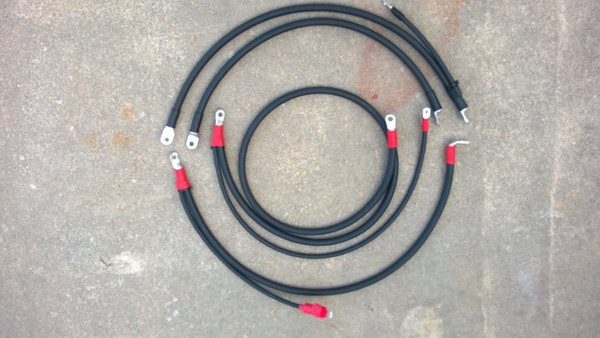 Chevrolet  Gmc 6 5 Turbo Diesel 2  0 Battery Cables