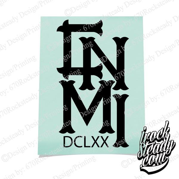 CNMI DCLXX II DECAL