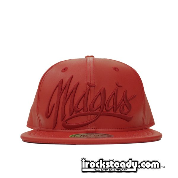 MAGAS (SIGNATURE LOGO RED) Snapback