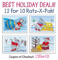 Ratz-X-Pak 12 for Price of 10!