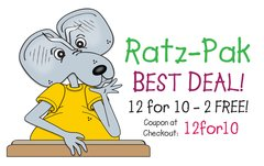 Ratz-Pak – 12 for Price of 10!