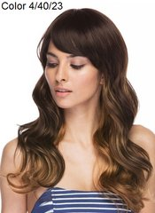 Angelina Sepia Synthetic Hair