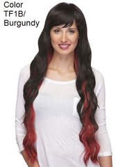 Aspen Sepia Synthetic Hair Heat Resistant