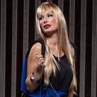Jewel Long Blush Sepia Synthetic