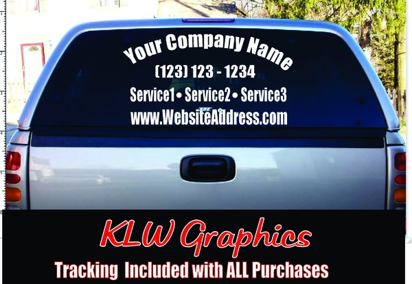 CUSTOM DECAL BUSINESS VINYL SIGN WINDOW CAR Truck Diesel Google - Custom car decals businesswindow decals