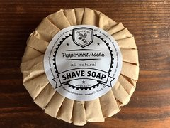 Shave Soap - Peppermint Mocha