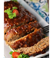 Wednesday Delivery Family Meal Night BBQ Turkey Meatloaf