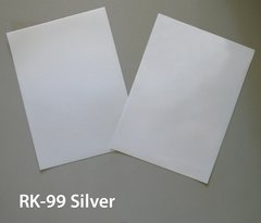 "RK-99S Do-It-Yourself Reflective Sheet Kit: Two 8""x11"" sheets of 3M Silver reflective vinyl, shines back bright white at night.."