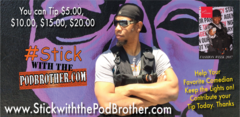 Tipping the Comedians at PodBrother Nation
