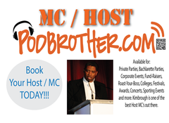 Hire the PodBrother to host your event