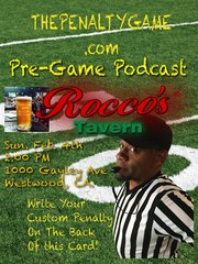 The Penalty Game Pre-Game Podcast