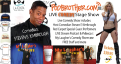 PodBrother LIVE Comedy Stage Show
