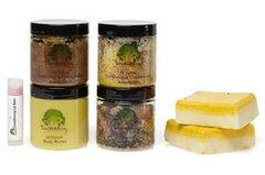 7pc Natural Spa Gift Set
