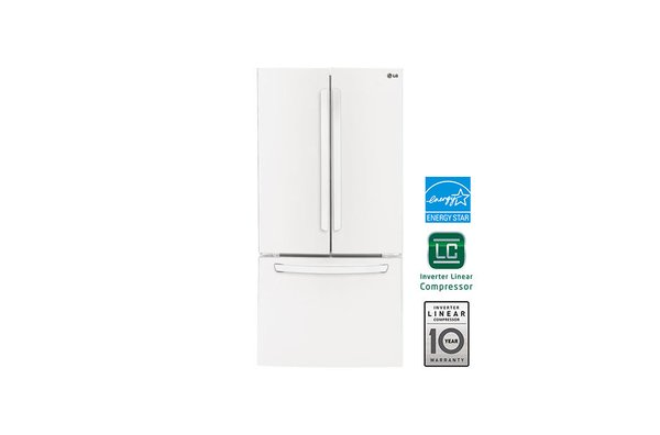 Lg Lfc24770sw 33 Wide French Door Refrigerator 24 Cuft