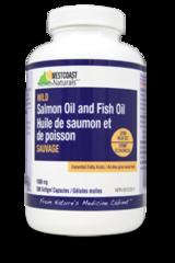 Wild Salmon Oil & Fish Oil