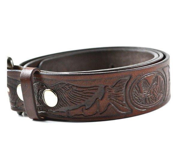 bi 333 100 hide leather belt black iron canada