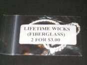 Fiberglass Lifetime Wick Replacement Pack