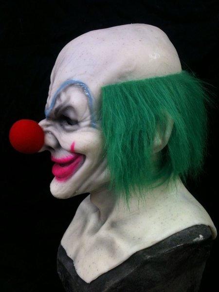 Fake Fur Clown Hair
