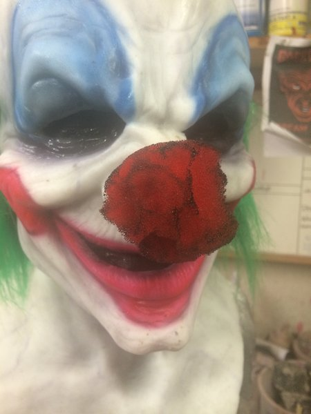 Clown nose- decayed