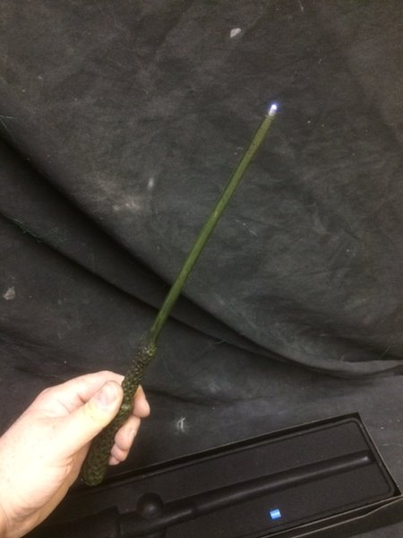 Elder Wand light up LED wand