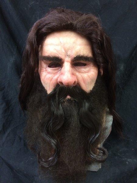 Long wavey mustache