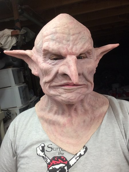 Goblin Bank manager / Creepy Elf